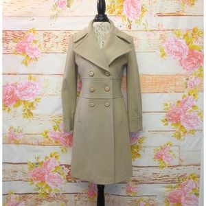 NWT! Via Spiga Wool Peacoat